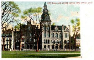 Connecticut New Haven ,   City Hall and Court House