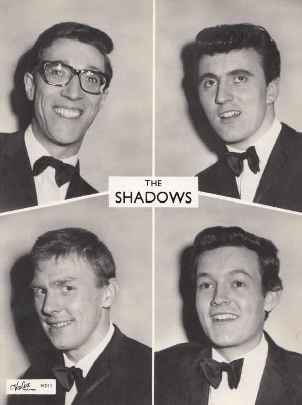 The Original Shadows of Cliff Richard Valex Blackpool Vintage 8x6 Publicity P...