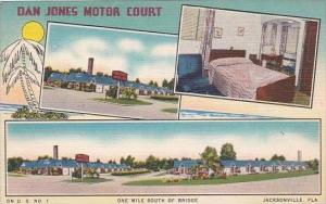 Florida Jacksonville Barnes Motor Court One Mil South Of Bridge