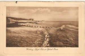Boscombe from the Sea  Tuck Sepia Plate-marked Ser. PC # 2479