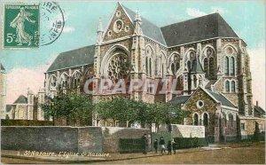 Postcard Old St Nazaire Church