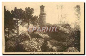 Old Postcard Bouray S and O Tower Poqueney