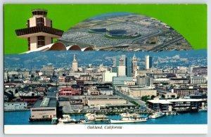 Post Card Oakland CalifCity Stadium View A5