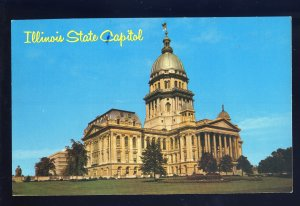 Springfield, Illinois/IL Postcard, View Of Illinois State Capitol Building