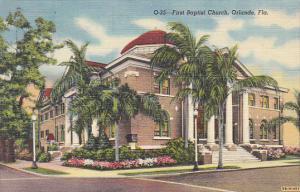 First Baptist Church Orlando Florida Curteich