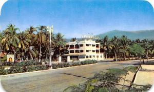 Acapulco Mexico Postcard Tarjeta Postal Hotel Las Hamacas Acapulco
