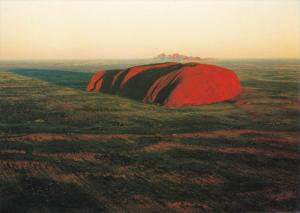 Ayers Rock and Olgas at Sunrise, Central Australia, 1970-80s