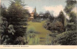 Portugal Old Vintage Antique Post Card Palacio de Monserrate Cintra Writing o...