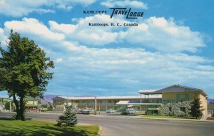 Kamloops Travel Lodge BC Canada Postcard