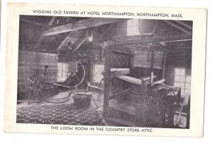 Wiggins Tavern Northampton Massachusetts MA Loom Room Hotel