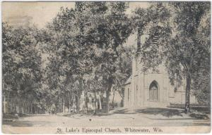 Wisconsin - Whitewater - St. Luke's Episcopal Church - 1915
