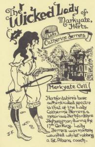 Hertfordshire Markyate Medieval Highwayman Prison Cell Limited Edition Postcard