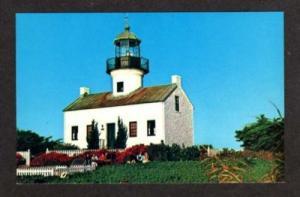 CA Point Loma Lighthouse SAN DIEGO CALIFORNIA Postcard