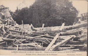 France Bar le Duc Bombardement 1914-18 Maison Iluet Boulevard de la Banque