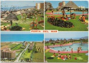 PORTA DEL MAR, TARRAGONA, Spain, 1972 used Postcard