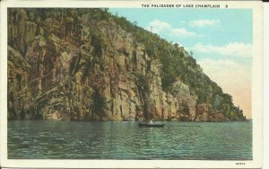 The Palisades of Lake Champlain