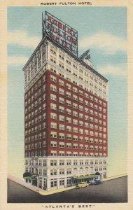 ATLANTA , Georgia , 1930-40s ; Robert Fulton Hotel