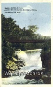 Sherbrooke, Quebec Canada, du Canada Magog River Falls  Magog River Falls