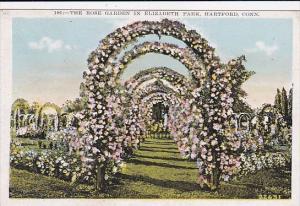 The Rose Garden In Elizabeth Park Hartford Connecticut