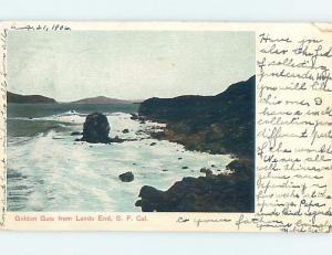 Pre-1907 LANDS END San Francisco California CA A0812
