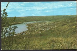 Alberta PEACE RIVER Panoramic View The Land of Twelve Foot Davis - Chrome
