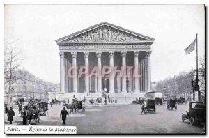 Postcard Old Paris Church of the Madeleine
