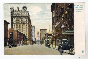 369 Tuck 2258  PA Philadelphia 1906   BROAD STREET from Locust st.