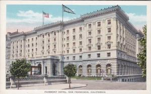 California San Francisco The Fairmont Hotel