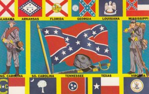 USA ; Confederate Battle Flag , 1950-60s
