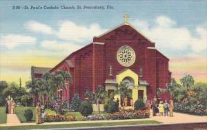 Saint Paul's Catholic Church Saint Petersburg Florida