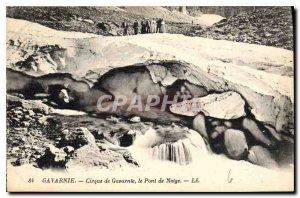 Old Postcard Gavarnie Gavarnie the Snow Bridge