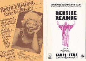 Beatrice Reading at Islington 2x Handbill Concert Flyers