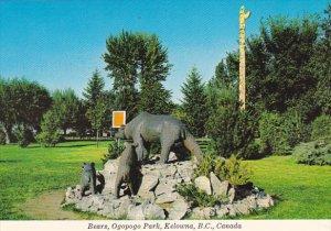Canada Bears Ogopogo Park Kelowna British Columbia