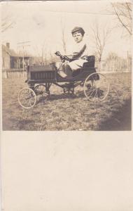 RP, Boy On Pedal Car, 00-10s