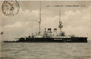 CPA AK Le Henri IV Curiasse d'Escadre SHIPS (782818)