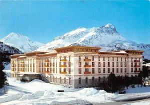 Switzerland Hotel Maloja Palace Winter Partial view