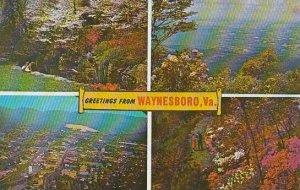 Virginia Waynesboro Greetings From Waynesboro