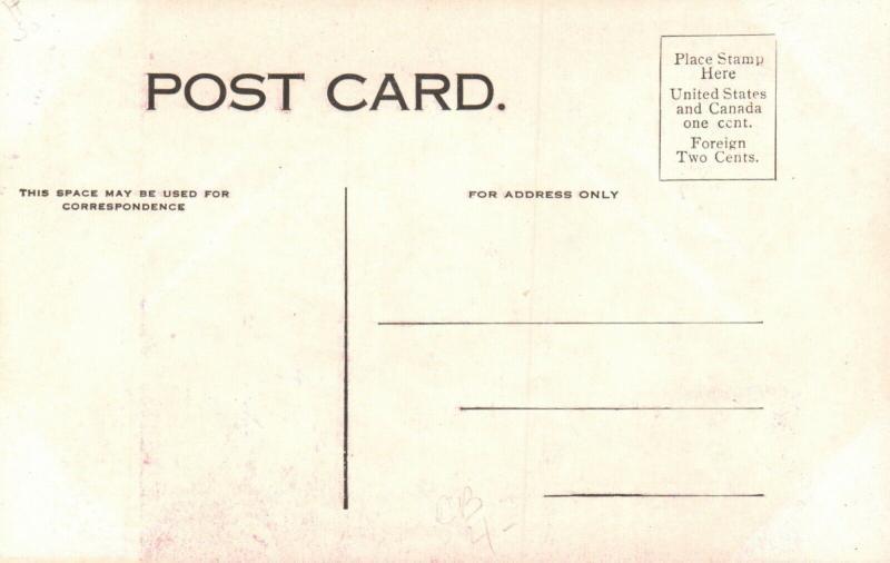 New York City, NY, Wall Street and Trinity Church, Vintage Postcard f1873