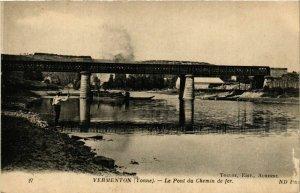 CPA Vermenton - Le Pont du Chemin de Fer FRANCE (960979)