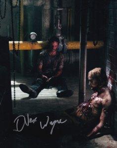 Alex Wayne The Walking Dead Lori of Prison Break Killer 10x8 Hand Signed Photo