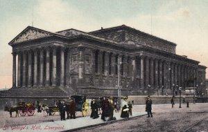 LIVERPOOL, Lancashire, England, 1900-1910s; St. George's Hall