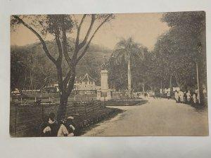 Postcard Monument to Sir Henry Ward Governor of Ceylon Sri Lanka Plates 1042