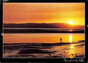Australia Sunset over Bustard Bay and Round Hill Creek