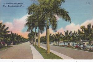 Florida Fort Lauderdale Las Olas Boulevard 1957
