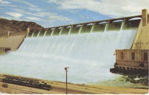 Grand Coulee Dam Washington Wa ~ Union Oil Company 76 Union Energy Postcard