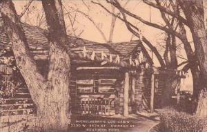 Illinois Chicago Mickelberrys Log Cabin 1950