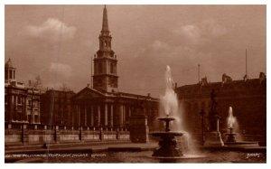 London The Fountains , Trafaigar Square , Judges Ltd. 5837