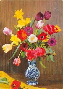Happy Birthday Tulips Flowers Blumen Fleurs