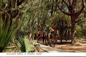 Bahamas Nassau Horseback Riding At Paradise Island