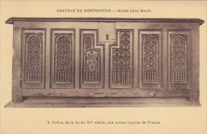 France Chateau De Montrottier Musee Leon Mares Coffre